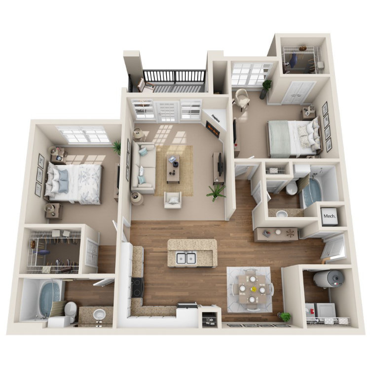 Floor plan image of Silver Bell