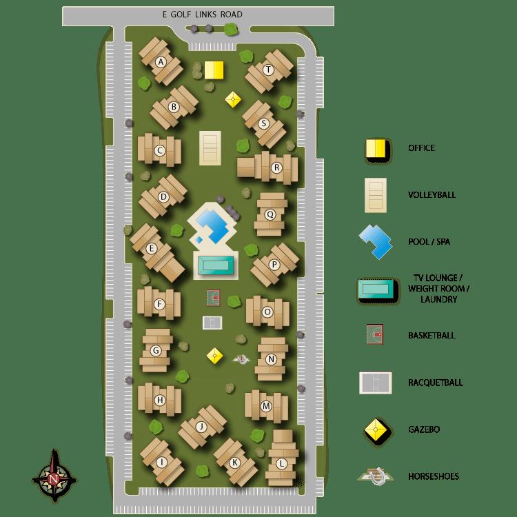 Raintree Site Map