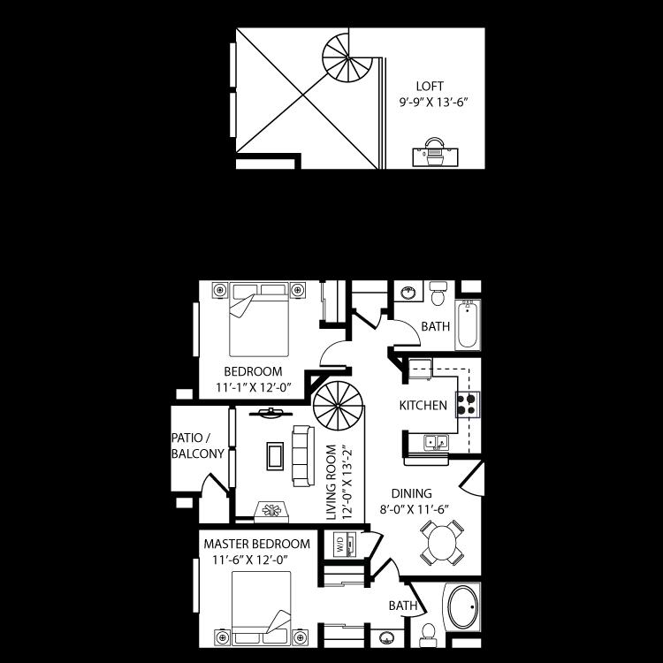 Floor plan image of Toledo BL3