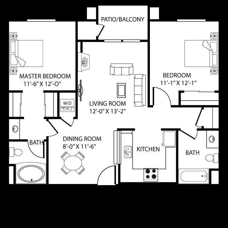 Floor plan image of Valencia B3