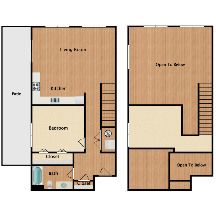 Floor plan image of 11E-Loft