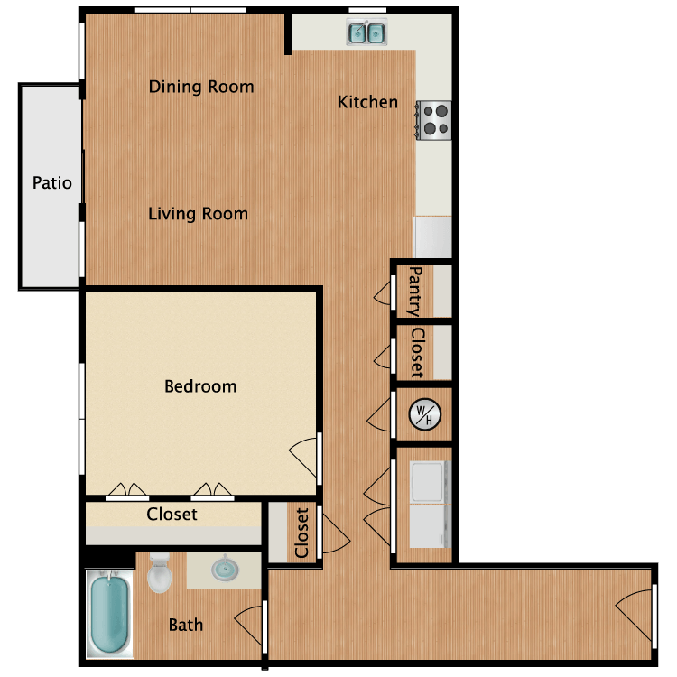 Floor plan image of 11C
