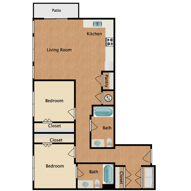 Floor plan image of 22A
