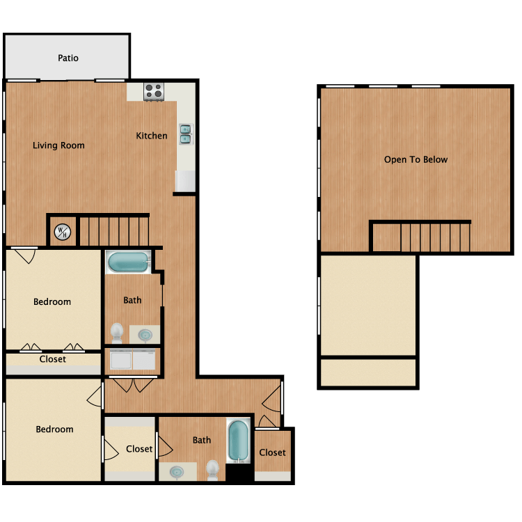 Floor plan image of 22O-Loft