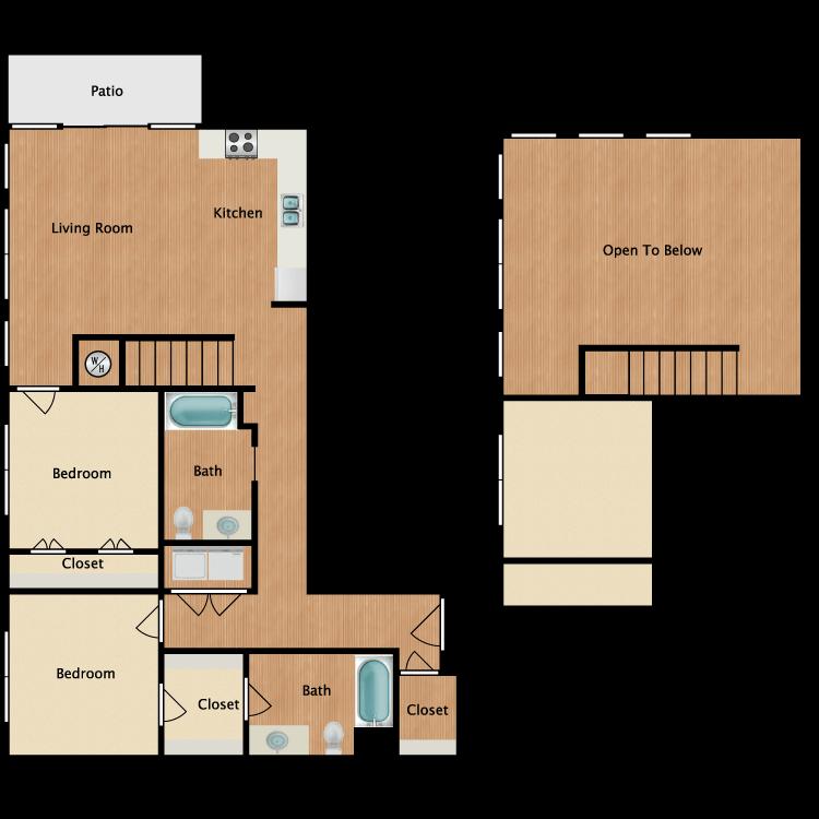 22O-Loft floor plan image