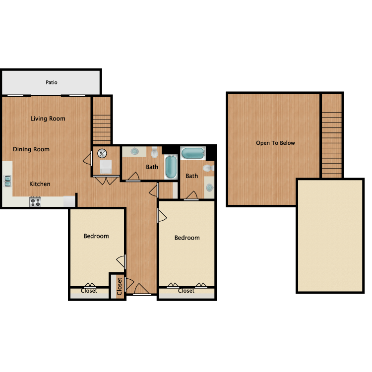 22R-Loft floor plan image
