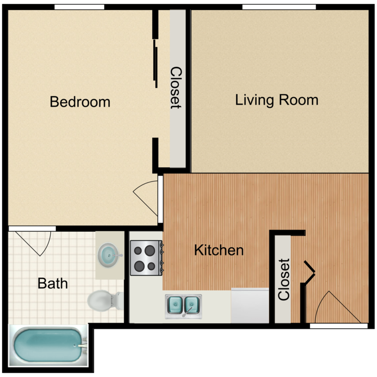 Floor plan image of D
