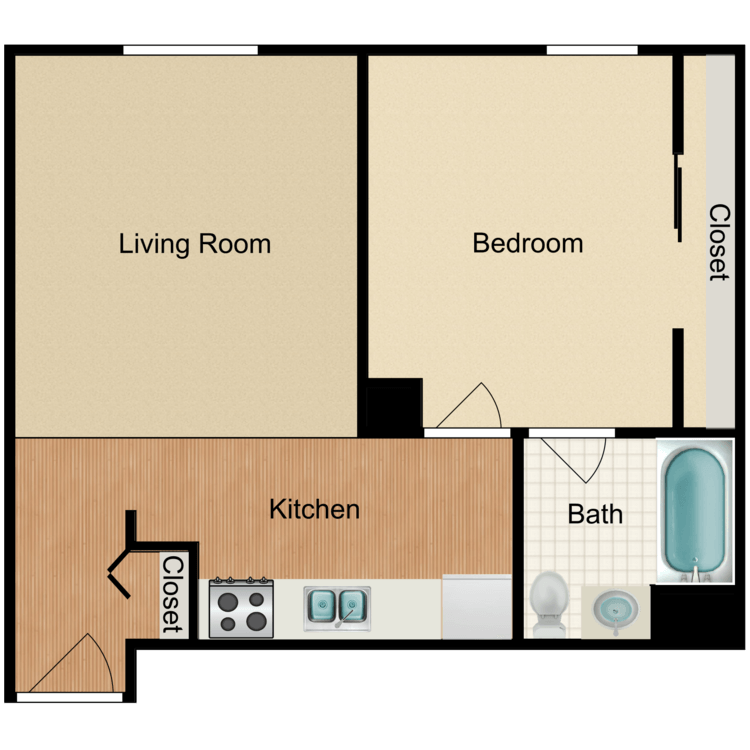 Floor plan image of C