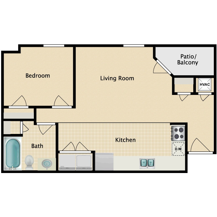 Admirable River Walk Apartments Availability Floor Plans Pricing Interior Design Ideas Pimpapslepicentreinfo
