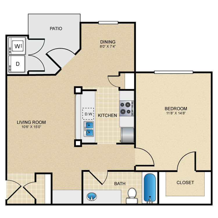 Floor plan image of The Descanso