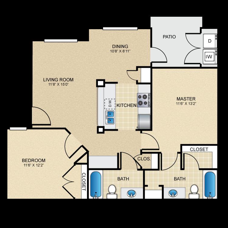Floor plan image of The Maricopa
