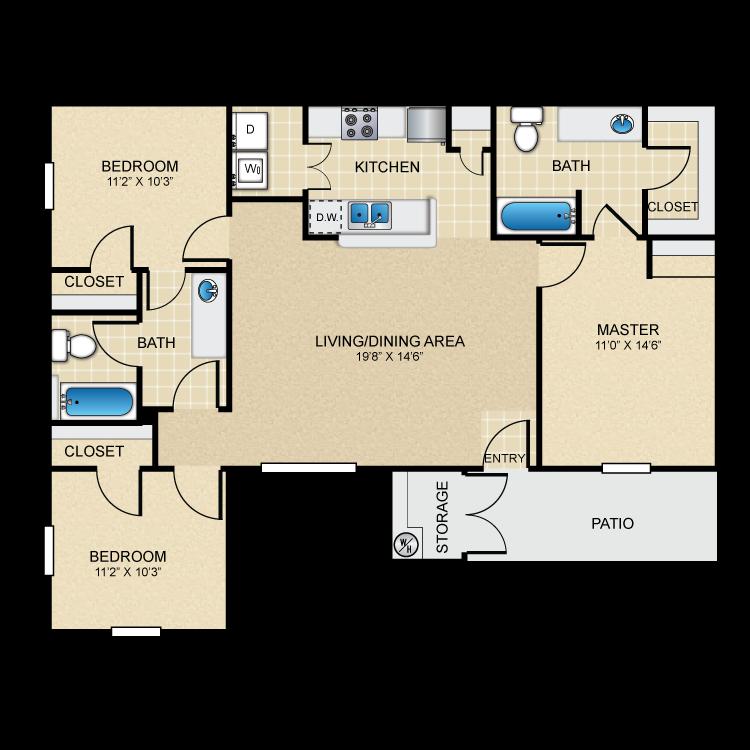 Floor plan image of The Tesoro