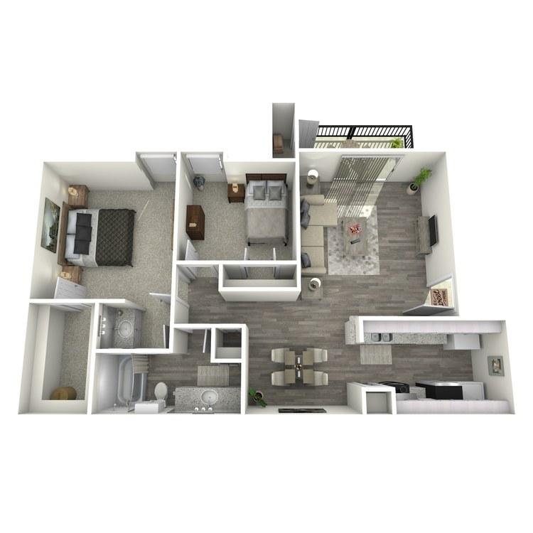 Floor plan image of The Pine