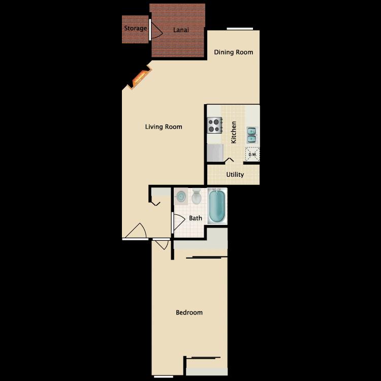 Floor plan image of The Hadlock