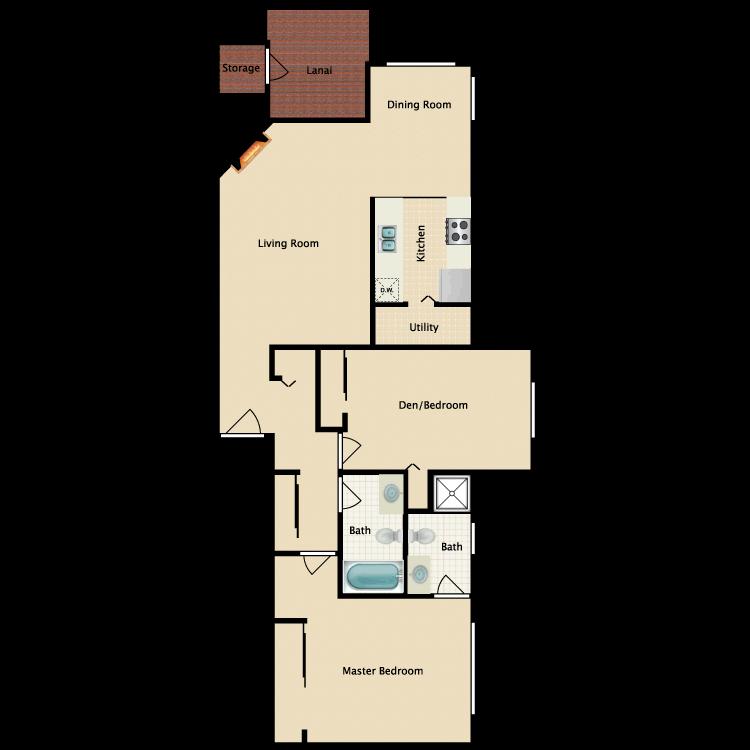 Floor plan image of The Ludlow