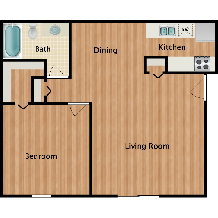 Floor plan image of Aspen Deluxe