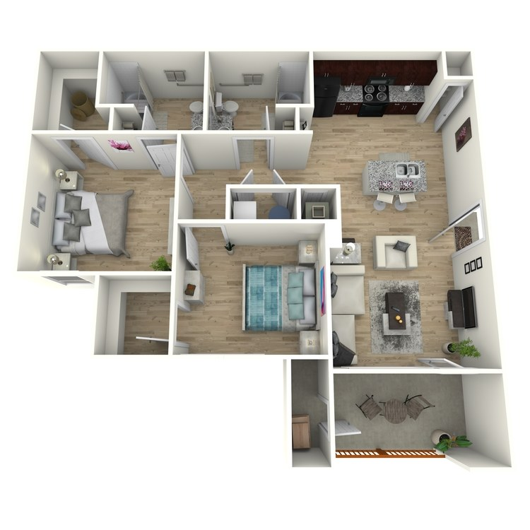 Floor plan image of B1 ADA