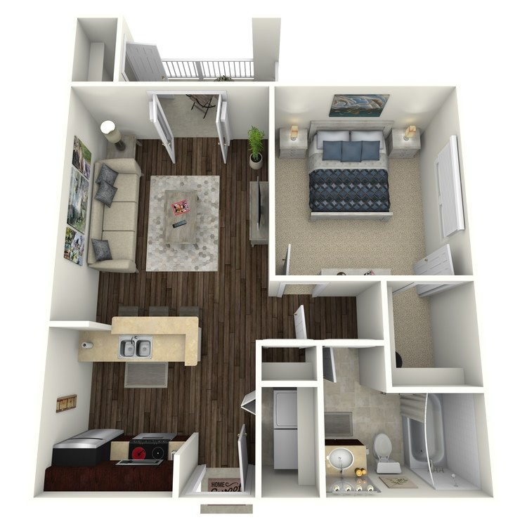Floor plan image of Arlington III