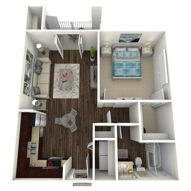Floor plan image of Arlington III B