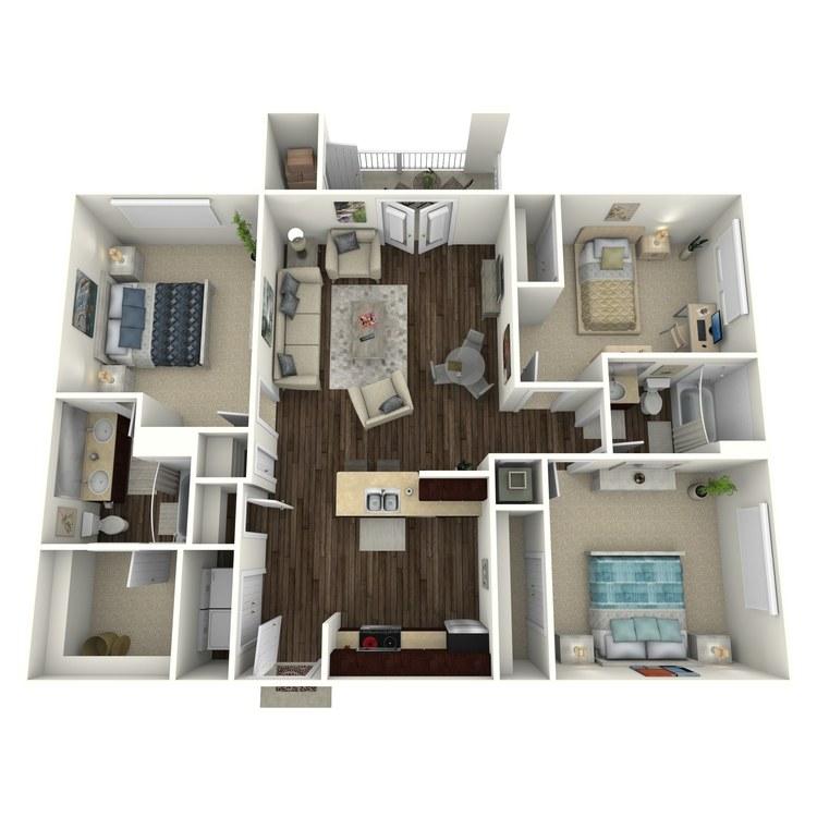 Floor plan image of Clarendon