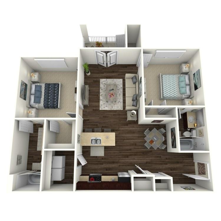 Floor plan image of Belhaven