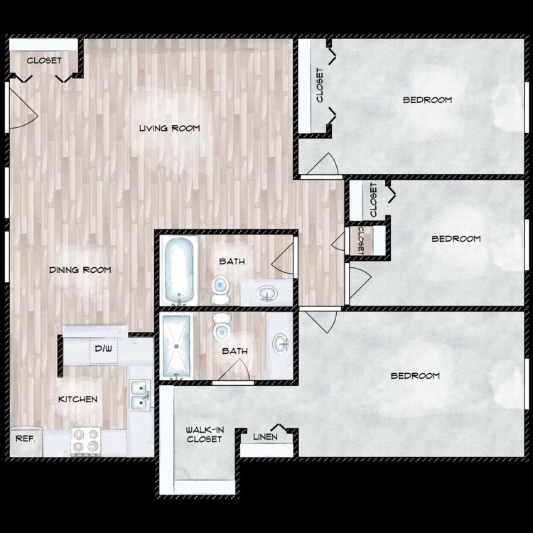 Floor plan image of F