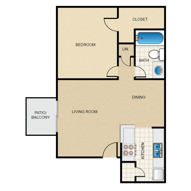 Parque View Apartments Availability Floor Plans Pricing - View floor plans