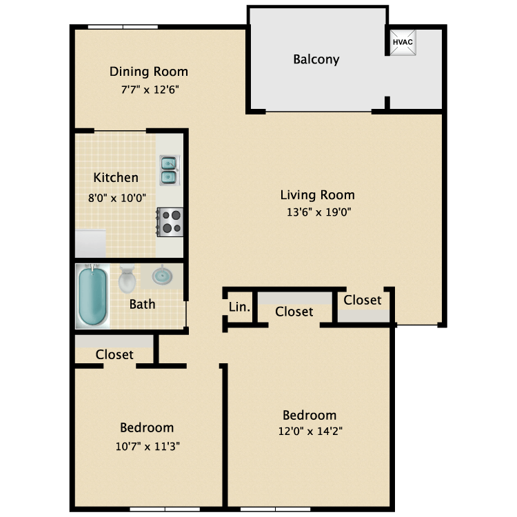 Floor plan image of Colinade