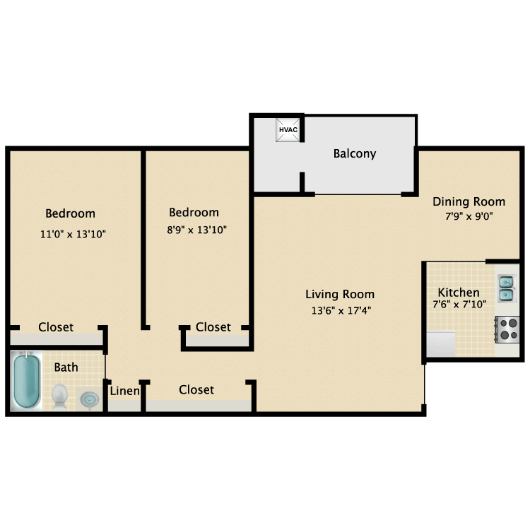 Floor plan image of Pavilion