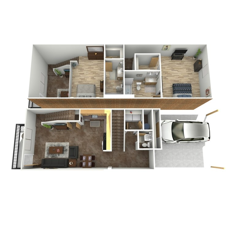 Floor plan image of Spencer Tracey