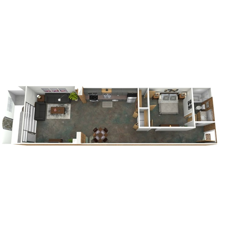 Floor plan image of Bette Davis A