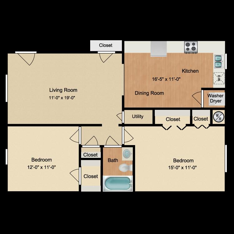 Floor plan image of The Bayview