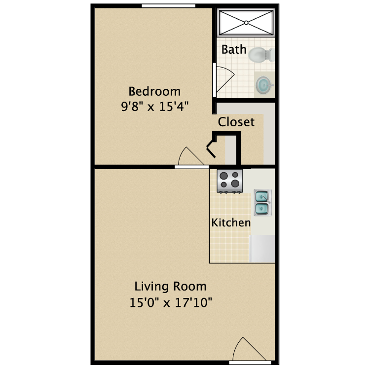 Floor plan image of Spruce