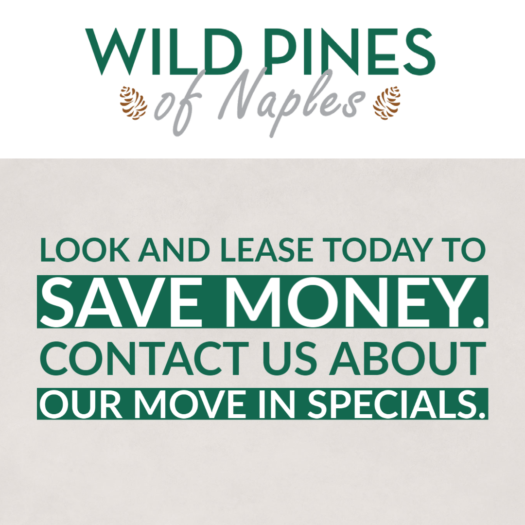 Wild Pines of Naples. Look and lease today to save money. Contact us about our move in specials.