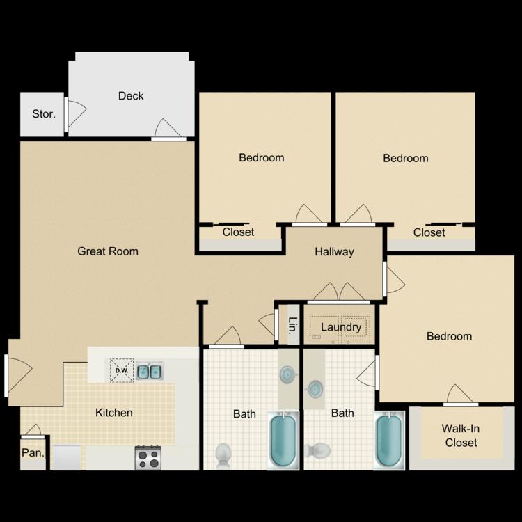 Coral floor plan image