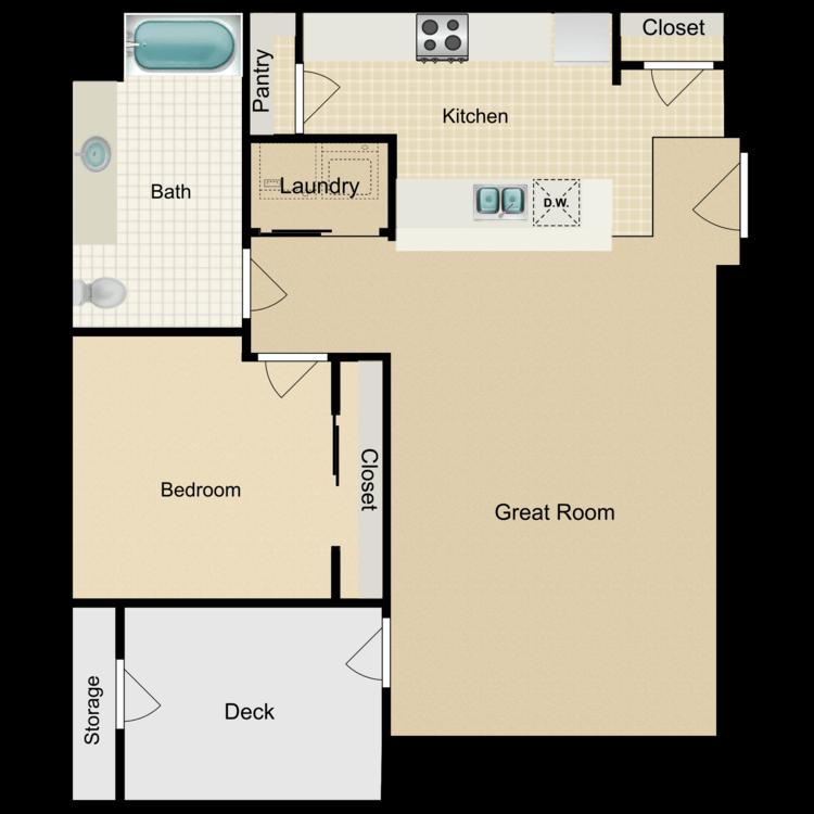 Dandelion floor plan image