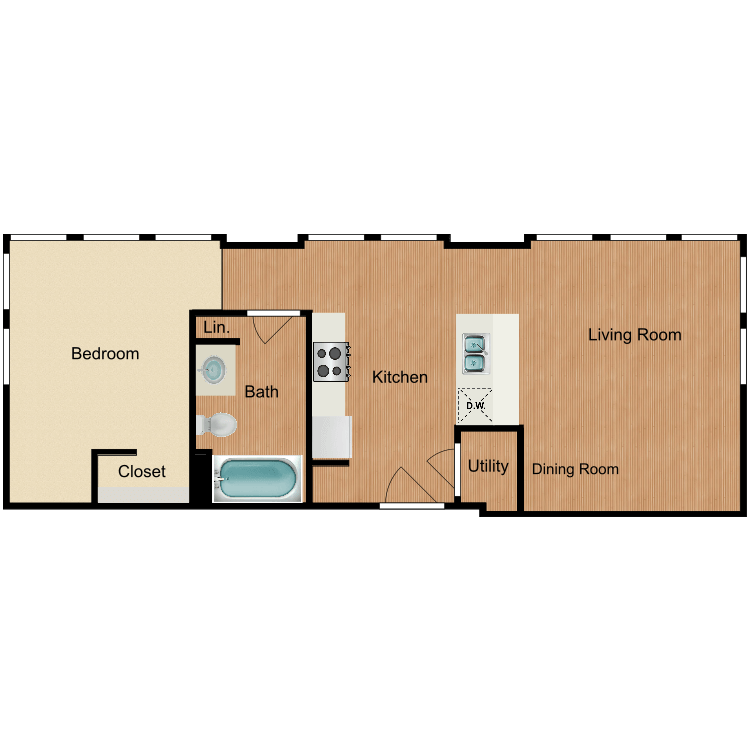 The Pendleton floor plan image