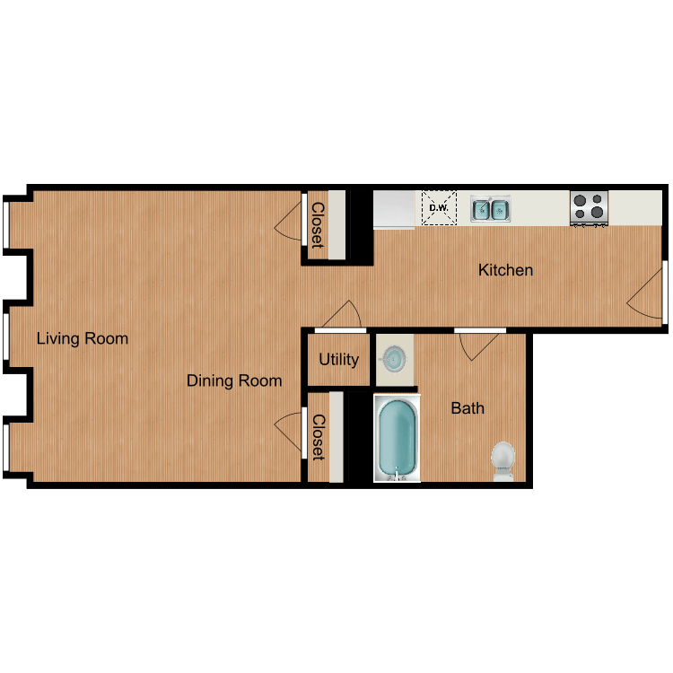 The Brunswick floor plan image