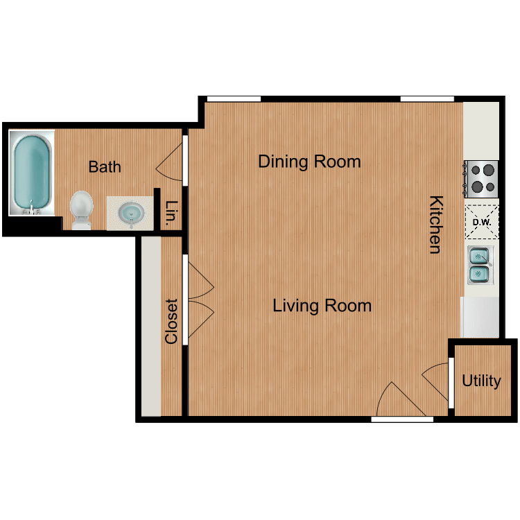 The Lackland floor plan image
