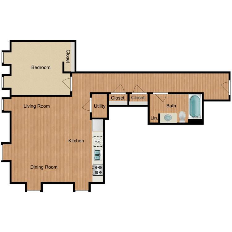 The Vandenburg floor plan image