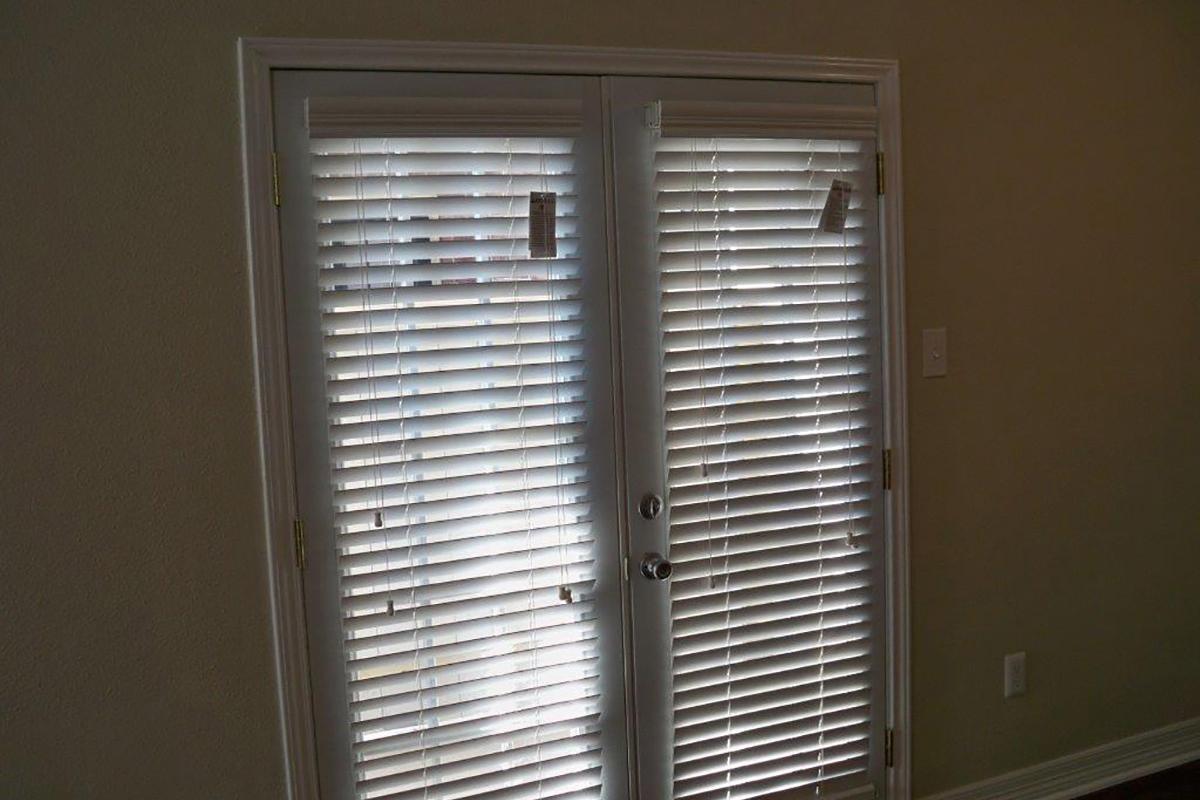 a door with a window