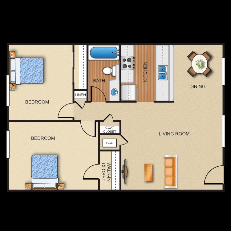 Plan E floor plan image