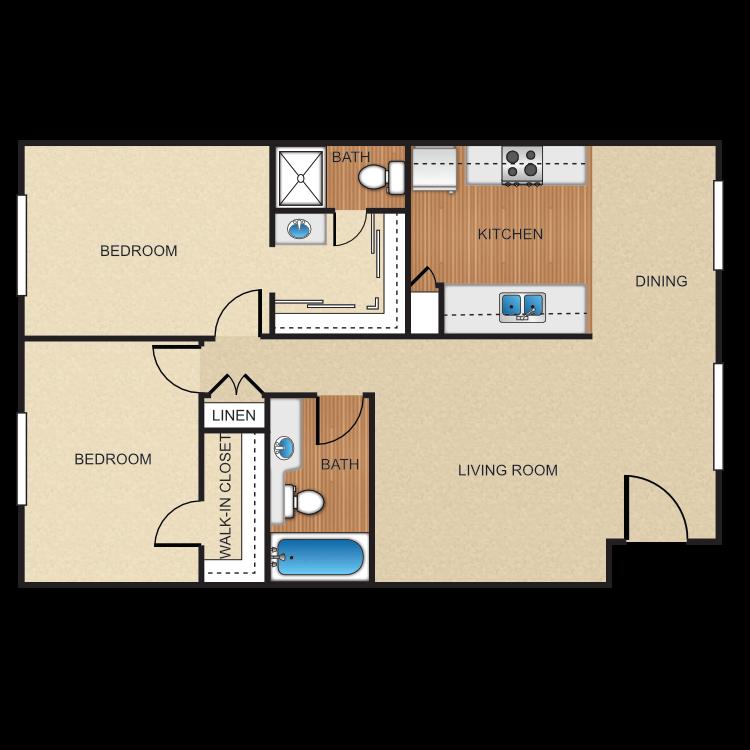 Floor plan image of Plan H