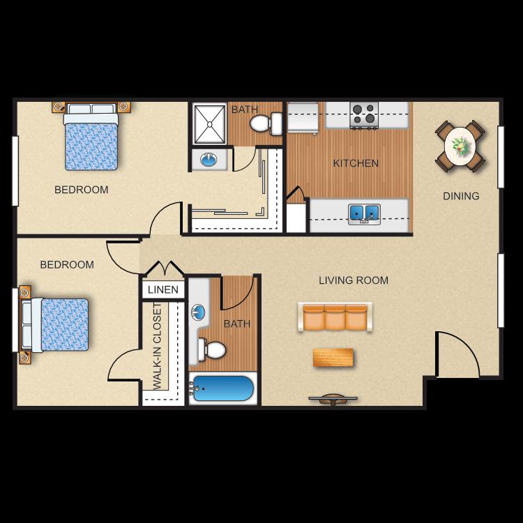 Plan H floor plan image