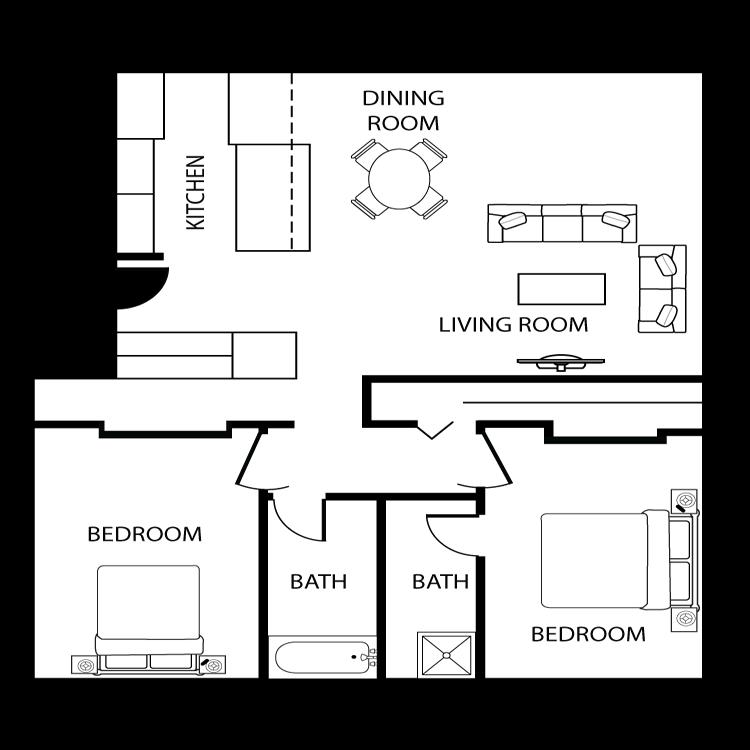 Floor plan image of Prescott