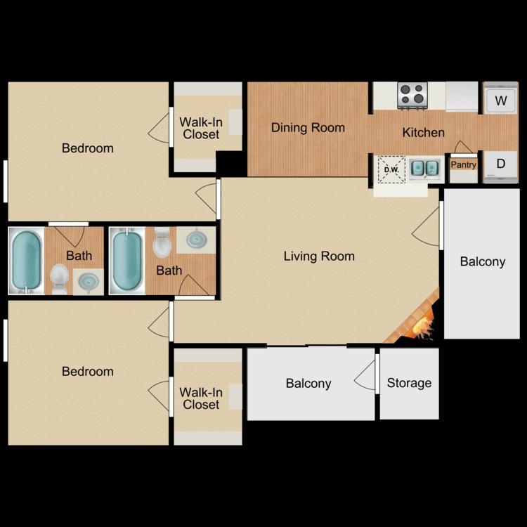 Floor plan image of The Cayman