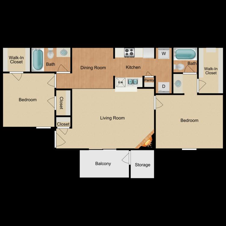 Floor plan image of The Riviera