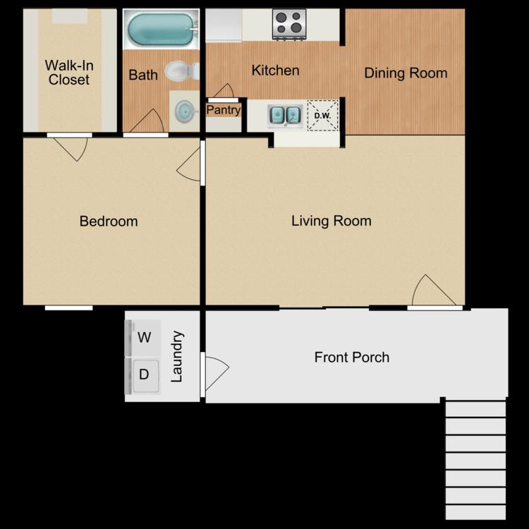 Floor plan image of The Sanibel