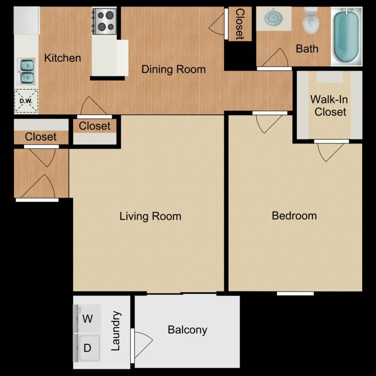 Floor plan image of The Ventura