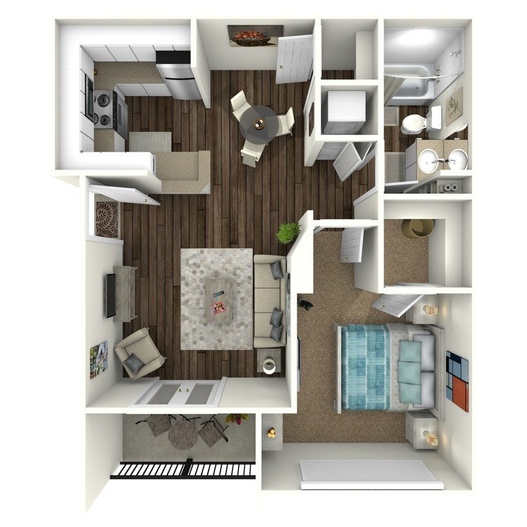 Floor plan image of Asher